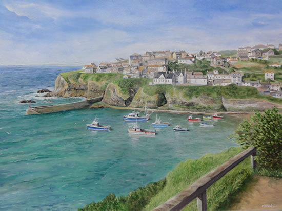 Port Isaac - Surrey Art Gallery